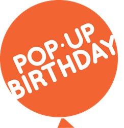Pop-Up Birthday